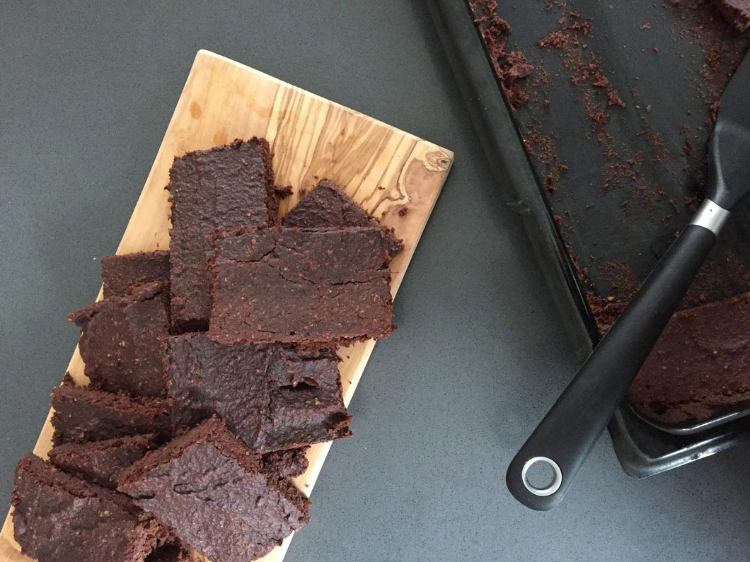 rote beete brownies Essen