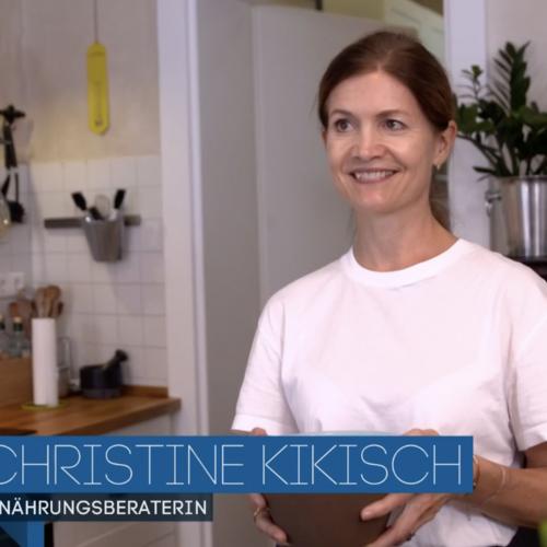 Ernährungsberaterin Christine Kikisch bei Galileo