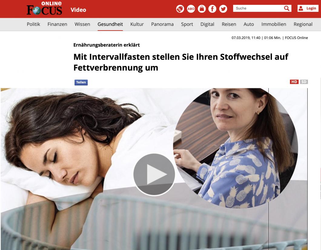 Focus Online Intervallfasten